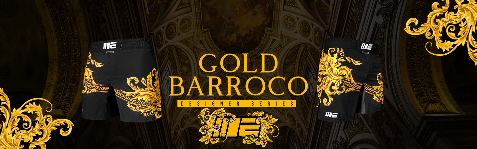 Engage Gold Barroco MMA Grappling Short V2.0
