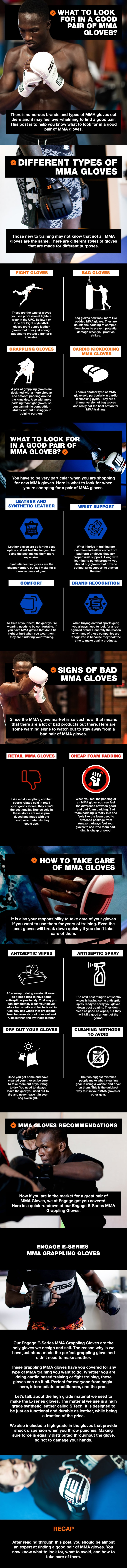 Which mma gloves are best for you - infographic
