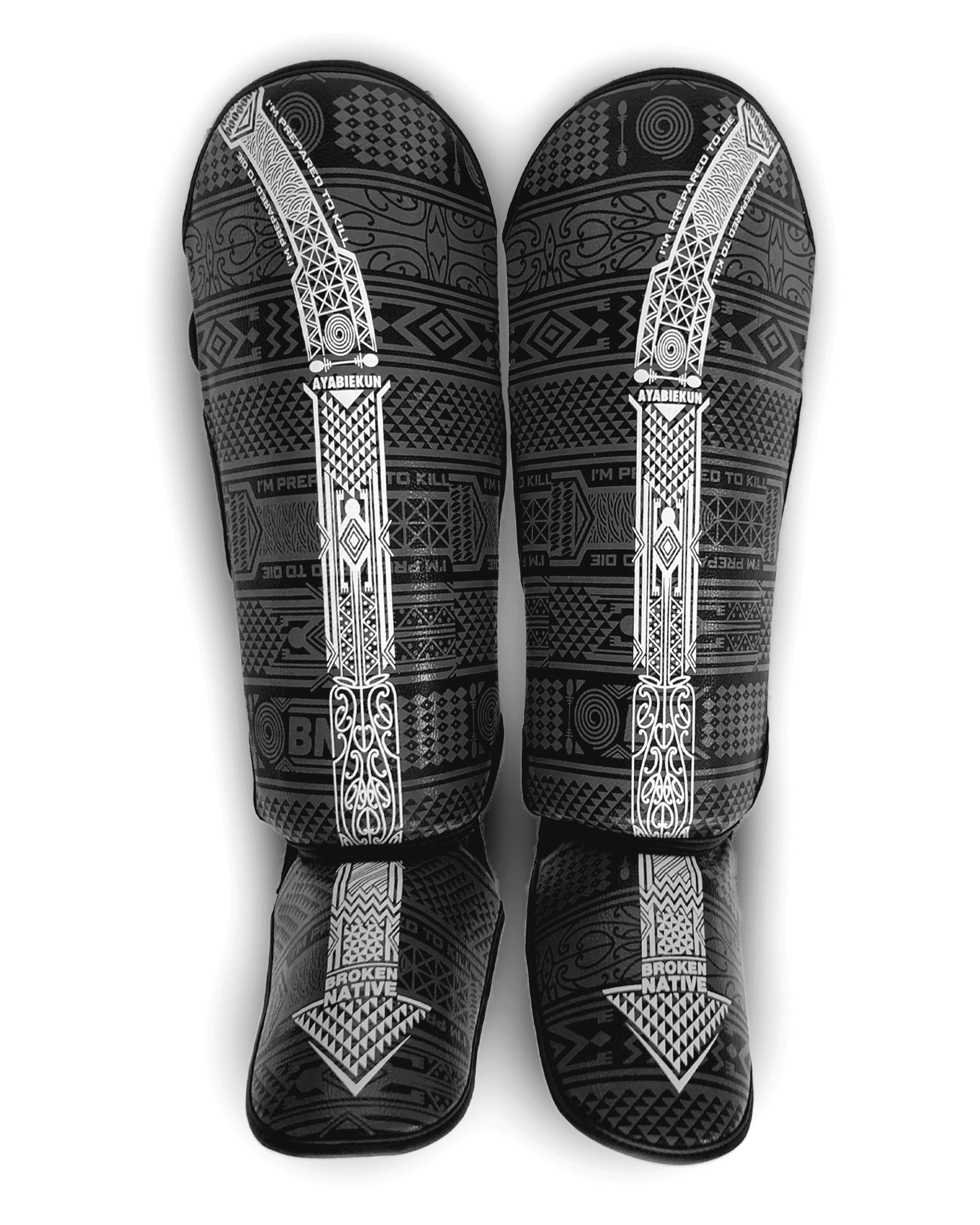 Israel Adesanya The Last Stylebender BN Shin Guards