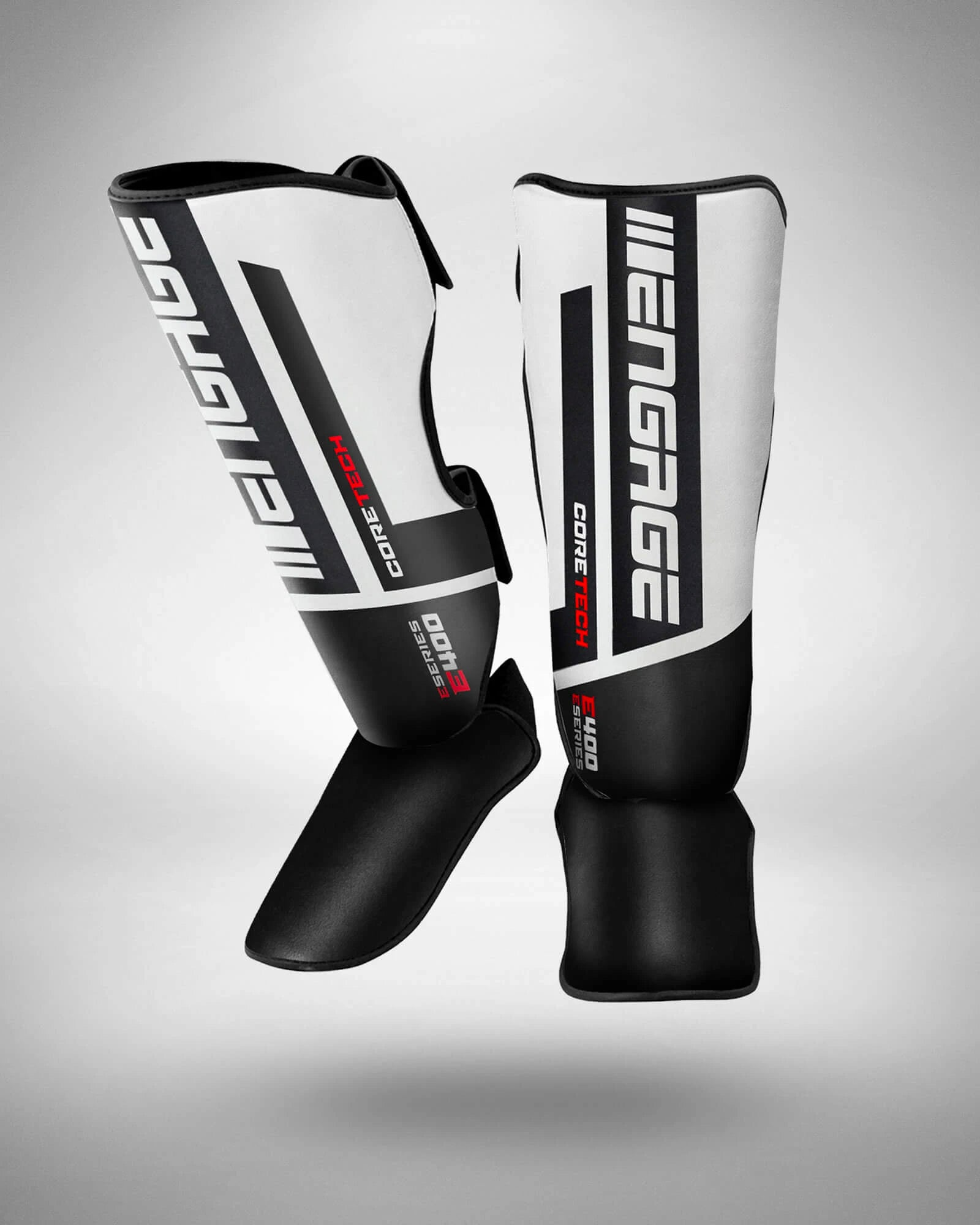 Engage E-Series Shin Guards White