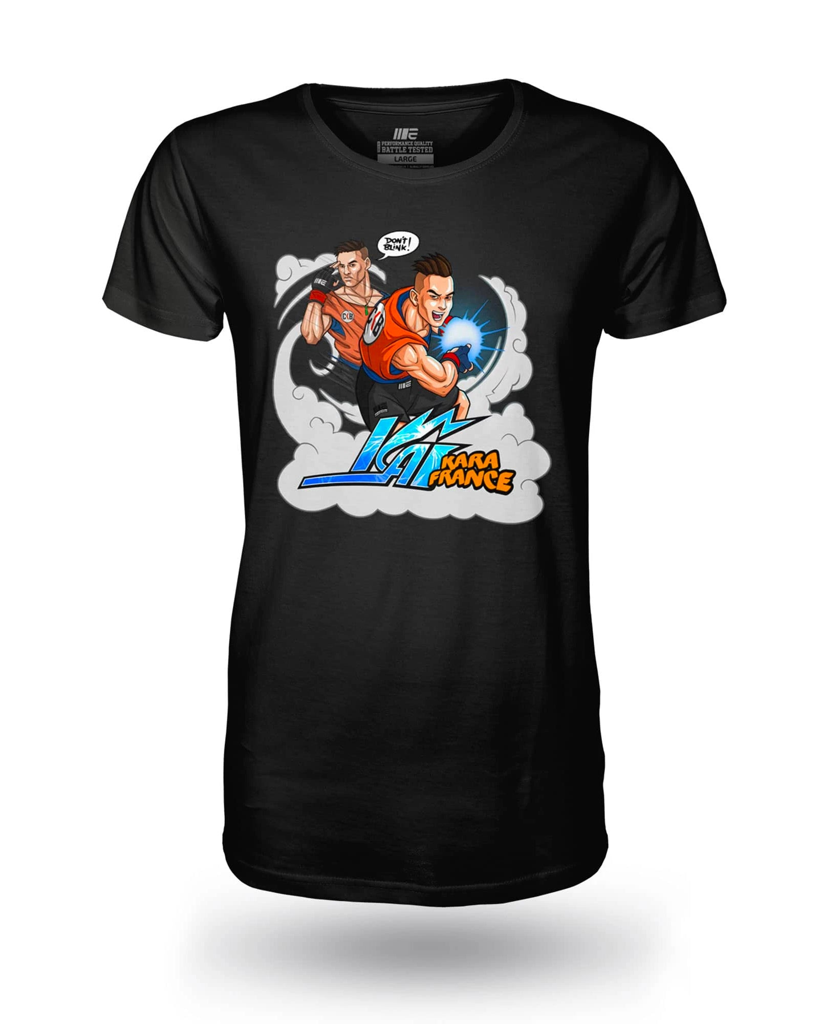 Kai 'Don't Blink' Kara-France Anime Supporter Tee
