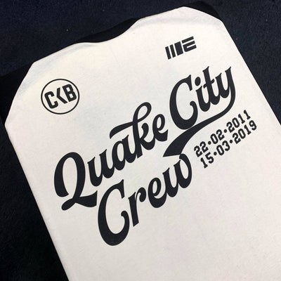 Brad Riddell Quake City Crew Supporter Tee