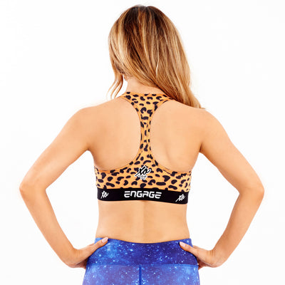 Carnal Cheetah Sports Bra Sports Bra Engage MMA Online Fight Store for Apparel, Fightwear and Fight Gear Equipment
