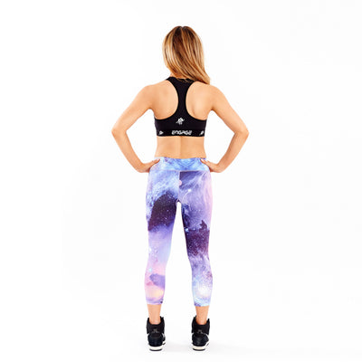 Essential Galactic Tight 3/4 Leggings Engage MMA Online Fight Store for Apparel, Fightwear and Fight Gear Equipment