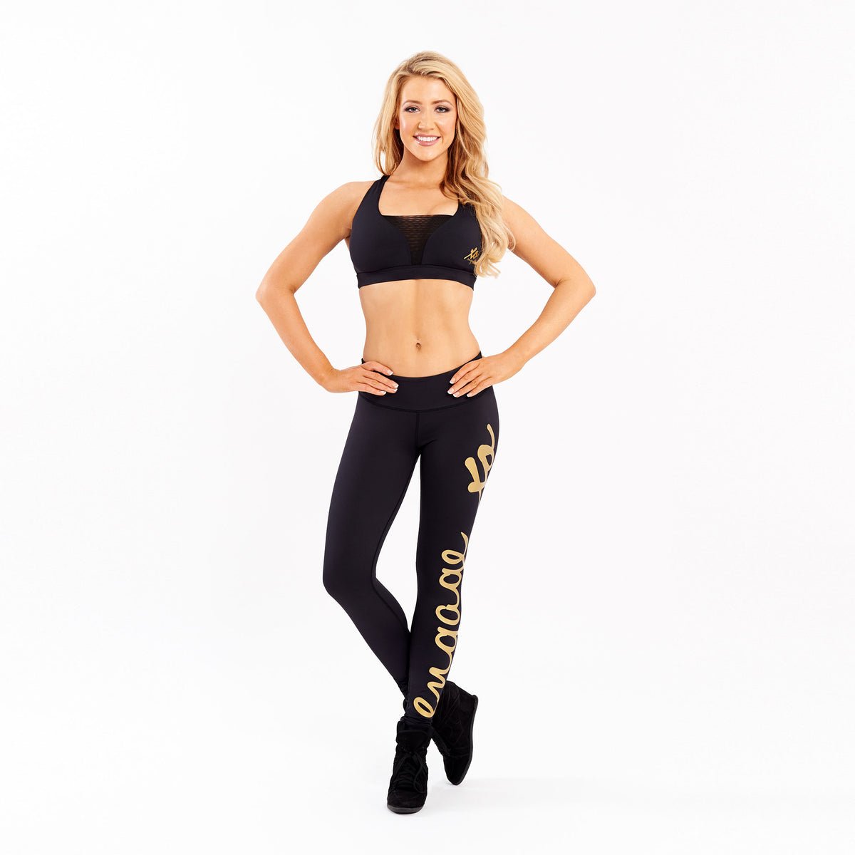 Essential Tight Gold - Long Leggings Engage MMA UFC fightwear online shop Australia