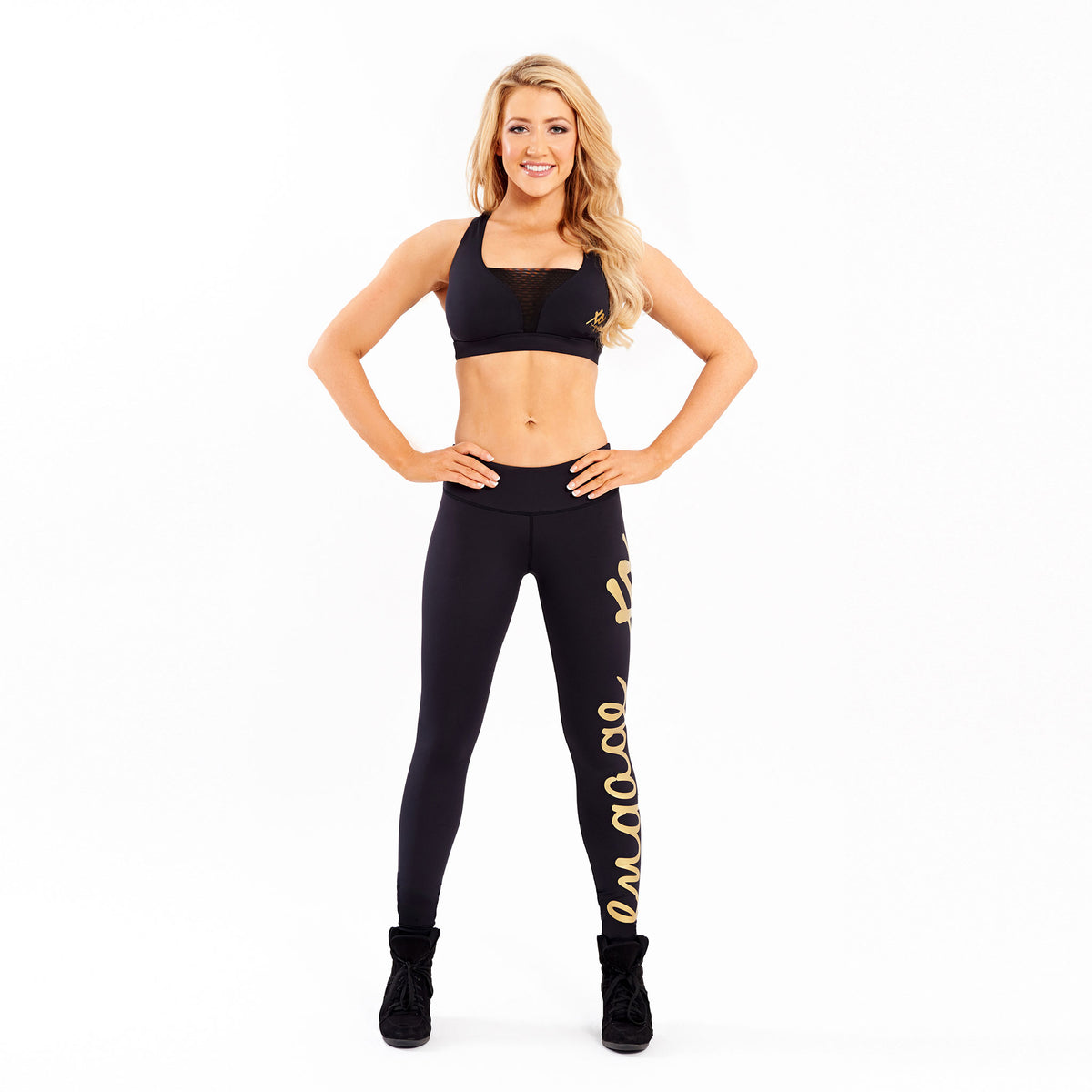 Essential Tight Gold - Long Leggings Engage MMA Online Fight Store for Apparel, Fightwear and Fight Gear Equipment