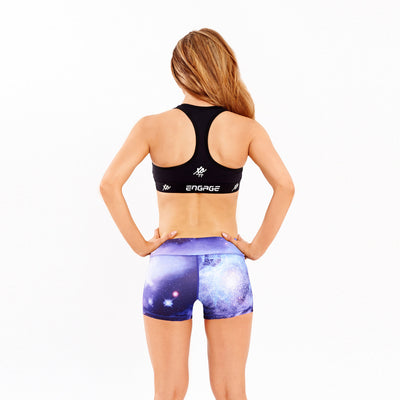 Booty Shorts - Galactic Booty Shorts Engage MMA UFC fightwear online shop Australia