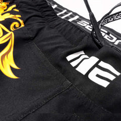 Engage Gold Barroco MMA Hybrid Fight Short MMA / K1 Shorts Engage MMA Online Fight Store for Apparel, Fightwear and Fight Gear Equipment