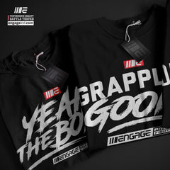 Engage Grappling Goons T-Shirt Tees Engage MMA Online Fight Store for Apparel, Fightwear and Fight Gear Equipment