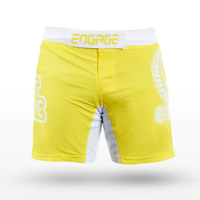 Engage MMA/K1 Fight Short - Sun God MMA / K1 Shorts Engage MMA UFC fightwear online shop Australia