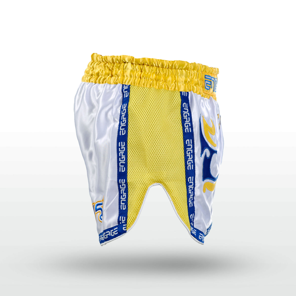 Engage Muay Thai Short Tribal Coterie - Yellow Muay Thai Shorts Engage MMA Online Fight Store for Apparel, Fightwear and Fight Gear Equipment