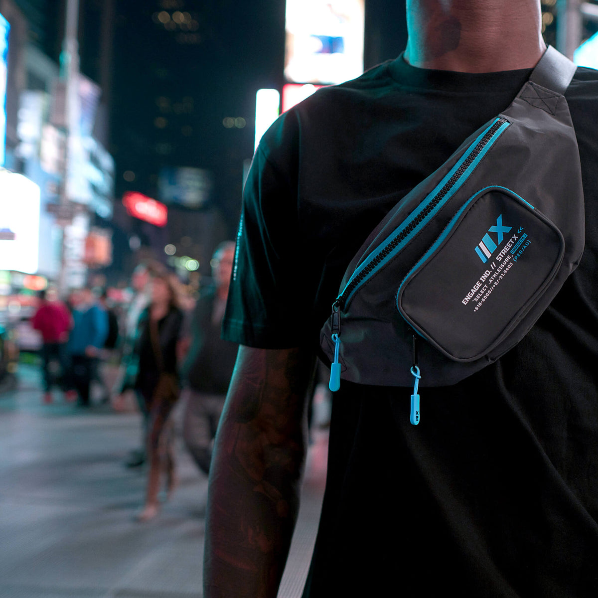 Engage x StreetX Reflective Waist Bag