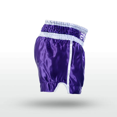 Engage XO Muay Thai Short - Violet Muay Thai Shorts Engage MMA Online Fight Store for Apparel, Fightwear and Fight Gear Equipment