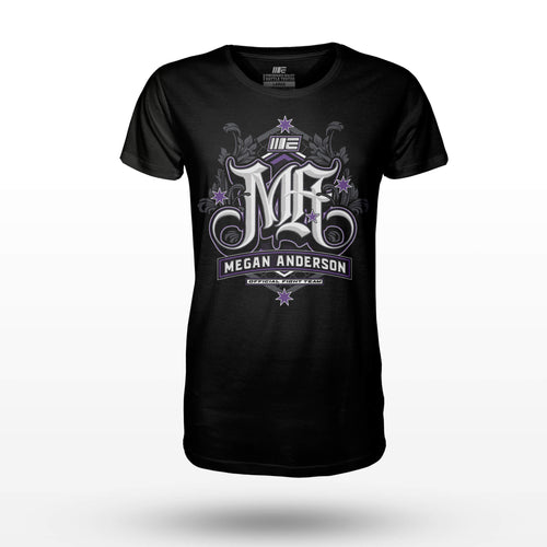 Limited Edition - Megan Anderson Official Supporter T-shirt Tees Engage MMA Online Fight Store for Apparel, Fightwear and Fight Gear Equipment