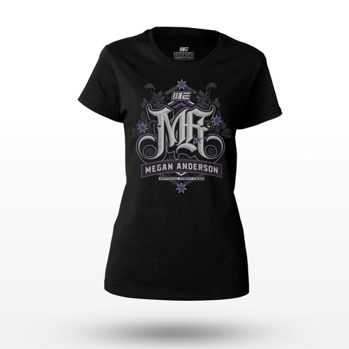 Limited Edition - Megan Anderson Official Supporter T-shirt Tees Engage MMA UFC fightwear online shop Australia