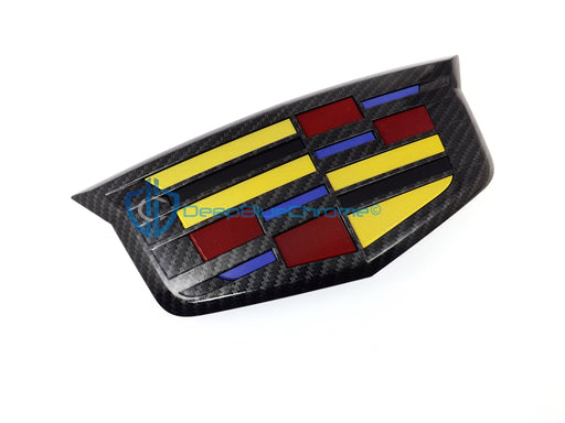 CTS Emblem Carbon Fiber Badge CT6 2016 2017 2018