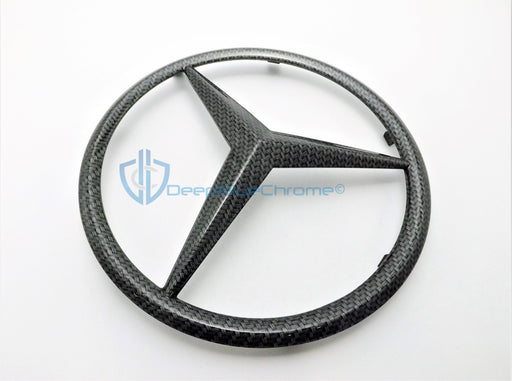 MB SL-Class Carbon Fiber Front Grille Emblem Genuine OEM Star Badge Logo R230