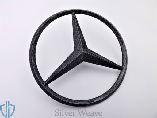 MB GL-Class 2007-2012 GL550 Carbon Fiber Star Emblem Rear Tailgate OEM Badge Logo X164