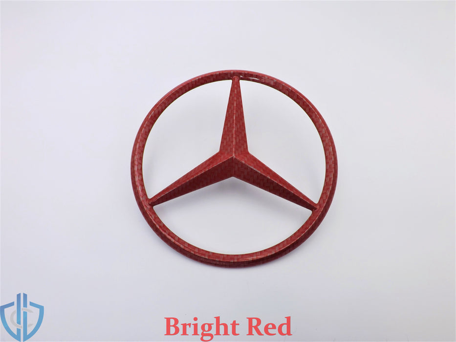 MB ML-Class 2012-2015 ML63 AMG Carbon Fiber Star Emblem Rear Tailgate OEM Badge Logo W166
