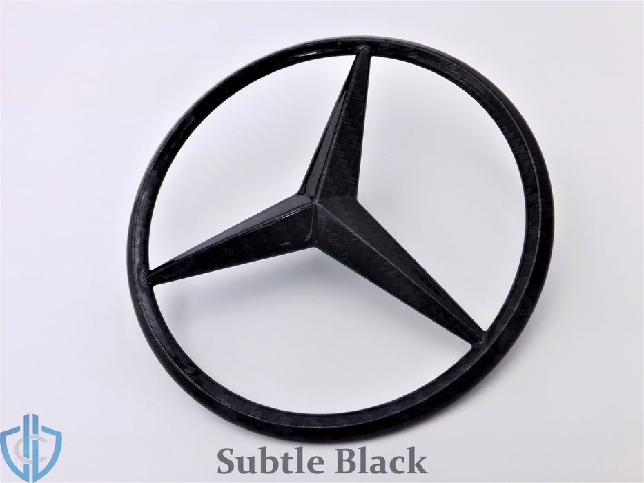 MB ML-Class 2006-2011 ML63 AMG Carbon Fiber Star Emblem Rear Tailgate OEM Badge Logo W164