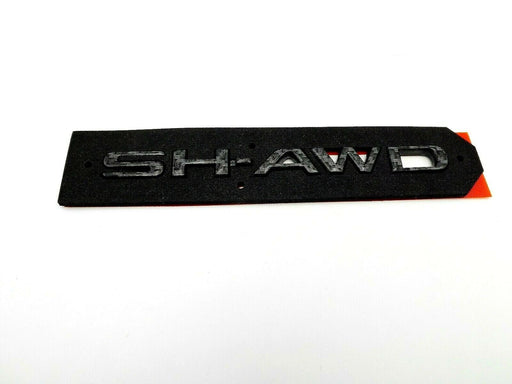 Acura Sh-awd Black Carbon Fiber Emblem MDX TLX RDX 2019-2020 Trunk Badge Genuine oem