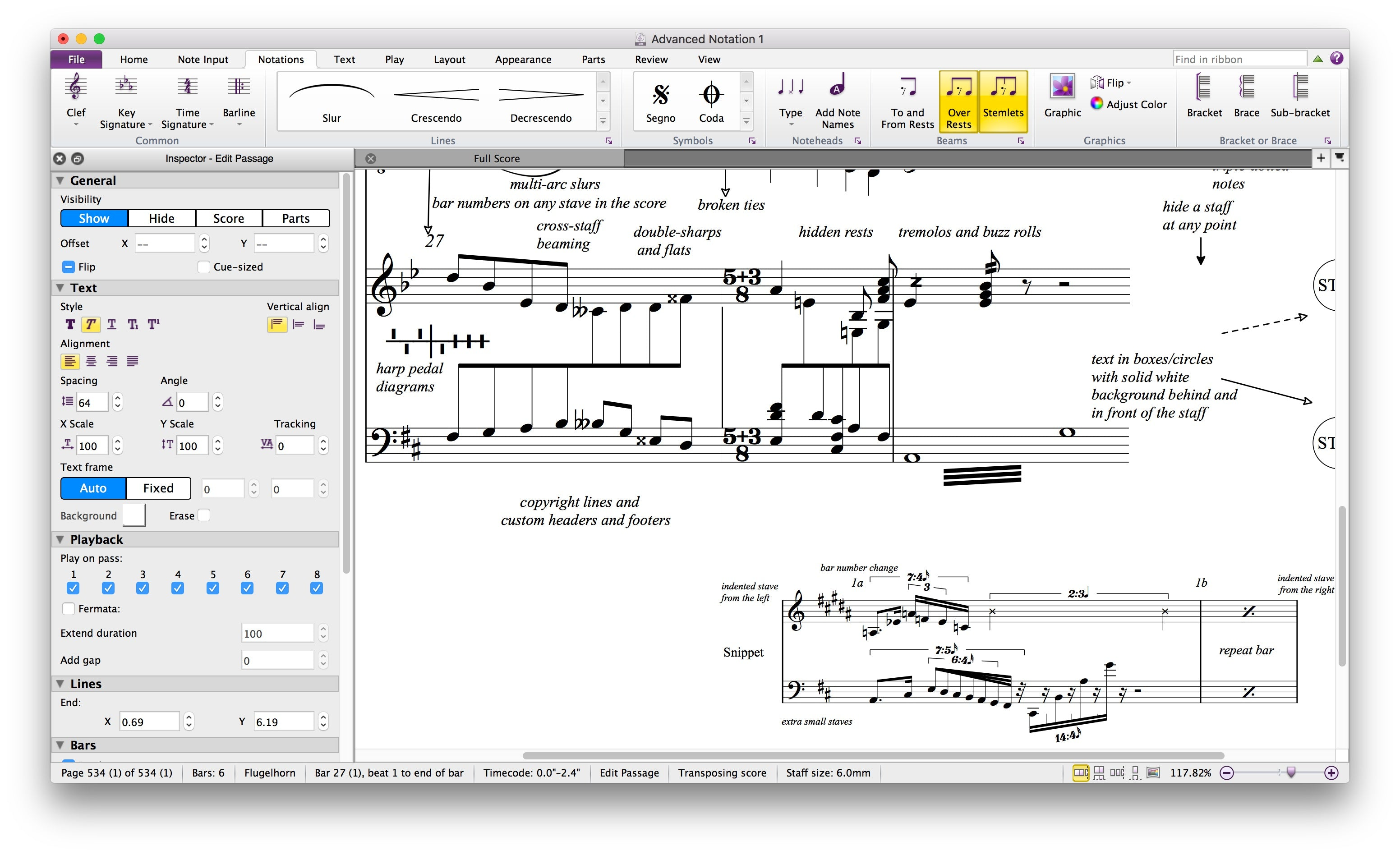 Avid Sibelius Ultimate Notation Software