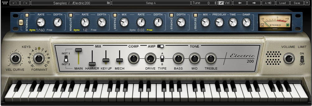 Waves Pianos & Keys Virtual Instrument