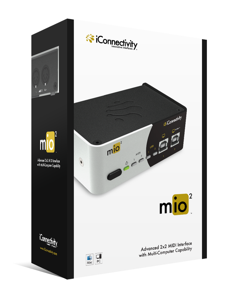iConnectivity mio2 Midi Interface