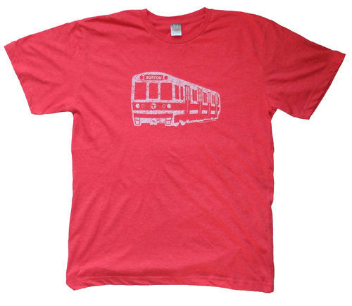 Red Line Subway Car T-Shirt (Adult/Toddler Unisex)
