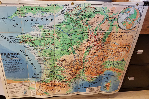 France (Physical Geography) 1961