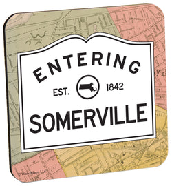 Entering Somerville Wood Coaster