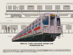 Red Line No. 3 Rapid Transit Car