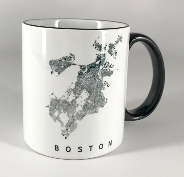 Boston City Plan Mug