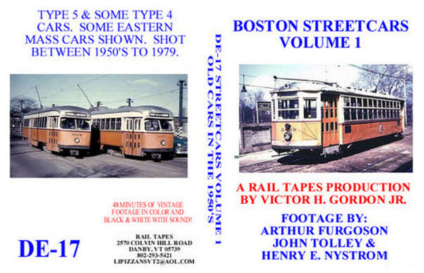 Boston Streetcars Vol. 1