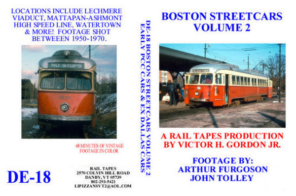 Boston Streetcars Vol. 2