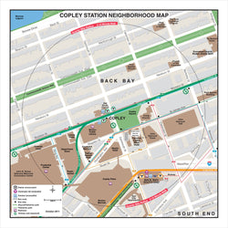 Copley Station Neighborhood Map (Oct. 2011)