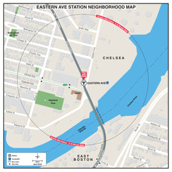 Eastern Ave Station Neighborhood Map (April 2018)