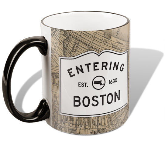Entering Boston Mug