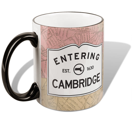 Entering Cambridge Mug