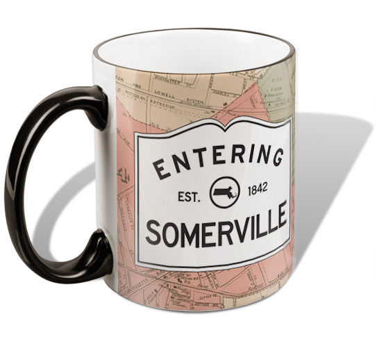 Entering Somerville Mug