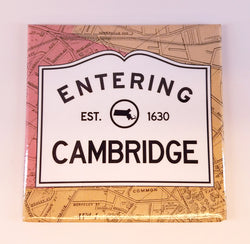Entering Cambridge Magnet