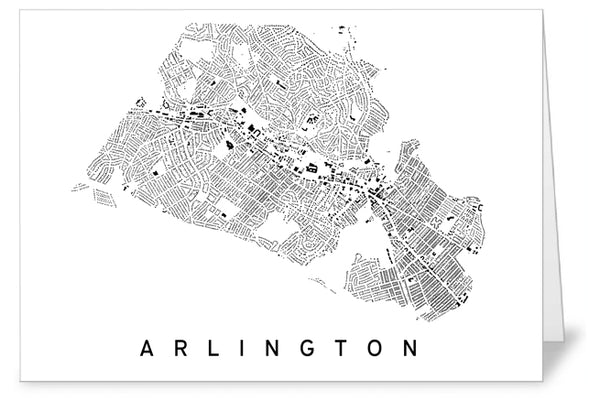 Arlington City Plan Greeting Card