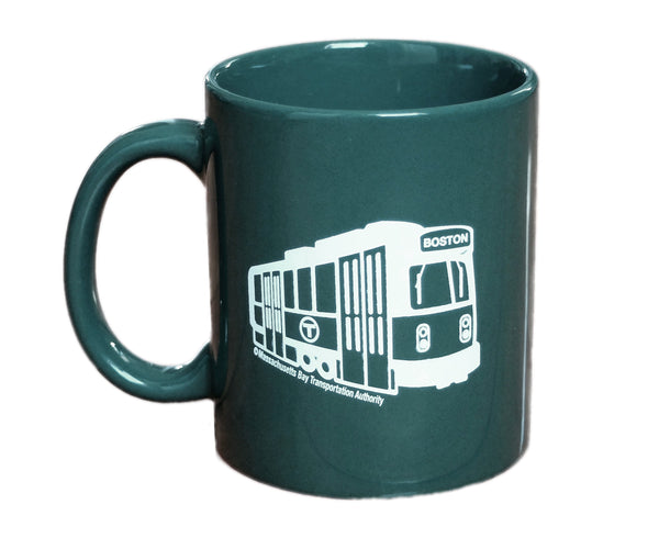 MBTA Green Line Trolley Mug