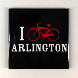 I Bike Arlington Magnet