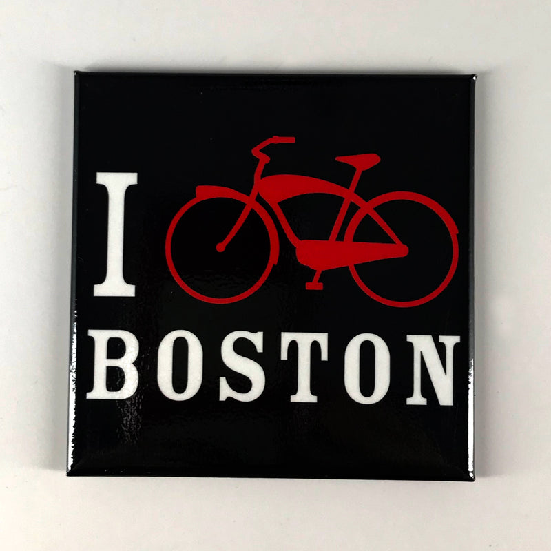 I Bike Boston Magnet