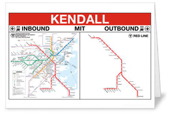 Kendall Station Greeting Card
