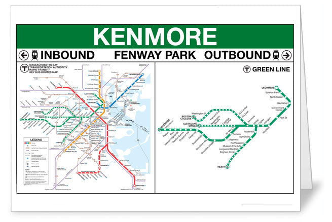 Kenmore Station Greeting Card