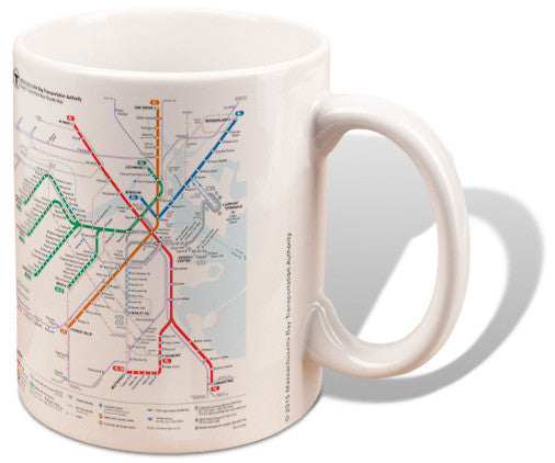 Rapid Transit Map Mug