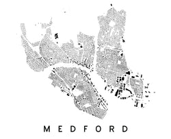 Medford City Plan Print
