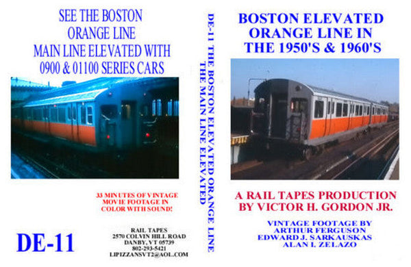 Boston Elevated Orange Line in the 1950s and 1960s